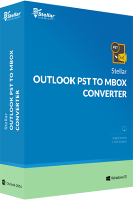 Stellar Outlook PST to MBOX Converter Discount Coupon