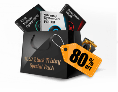 2018 IObit Black Friday Special Pack Discount Coupon