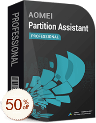 AOMEI Partition Assistant割引クーポンコード