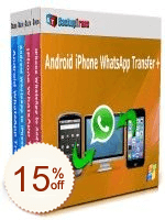 Backuptrans Android iPhone WhatsApp Transfer + Discount Coupon