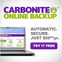 Carbonite for home Shopping & Trial
