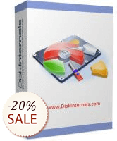 DiskInternals Partition Recovery Discount Coupon
