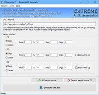 Extreme URL Generator Shopping & Trial