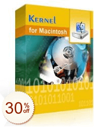 Kernel for Macintosh Data Recovery Discount Coupon