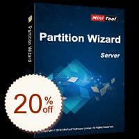 MiniTool Partition Wizard Server Discount Coupon