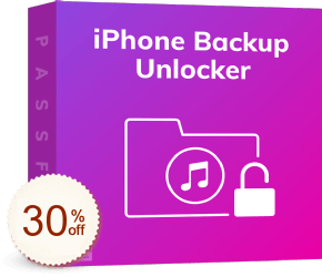 PassFab iPhone Backup Unlocker Discount Coupon
