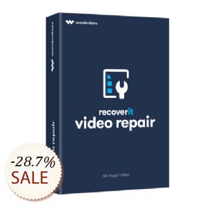 Recoverit Video Repair 割引情報