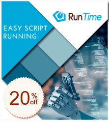 RunTime Discount Coupon