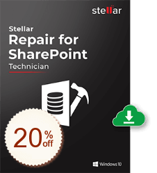 Stellar Repair for SharePoint Discount Coupon