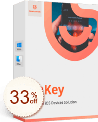Tenorshare 4uKey - iTunes Backup Discount Coupon