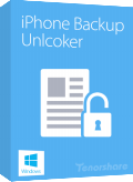 Tenorshare iPhone Backup Unlocker Discount Coupon