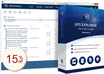 UFS Explorer RAID Recovery Discount Coupon