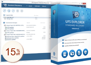 UFS Explorer Standard Recovery Discount Coupon