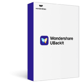 Wondershare UBackit Shopping & Trial